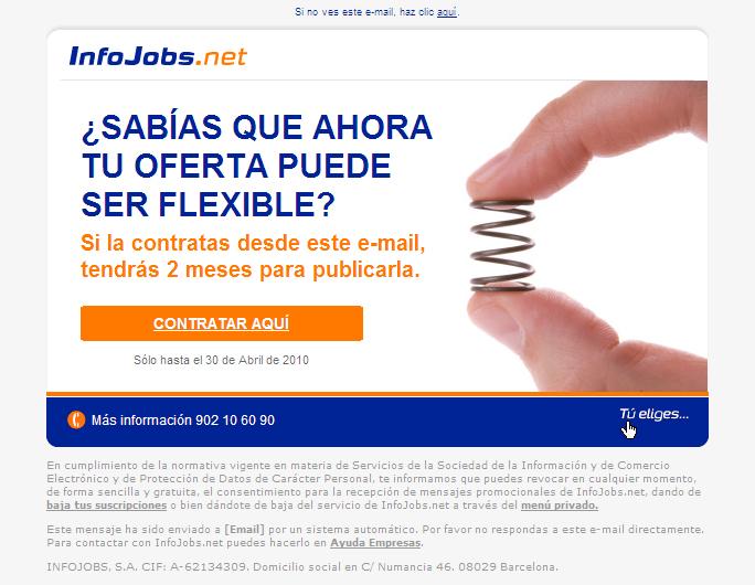 Infojobs – Promos